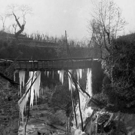 Canale irrigatorio con il ghiaccio 1901