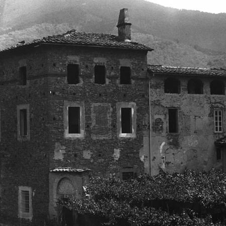 Scorcio di Via Cava a Calci 1915/1919