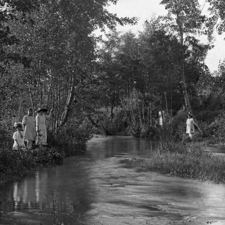 Canale nelle vicinanze del fiume Magra 1919