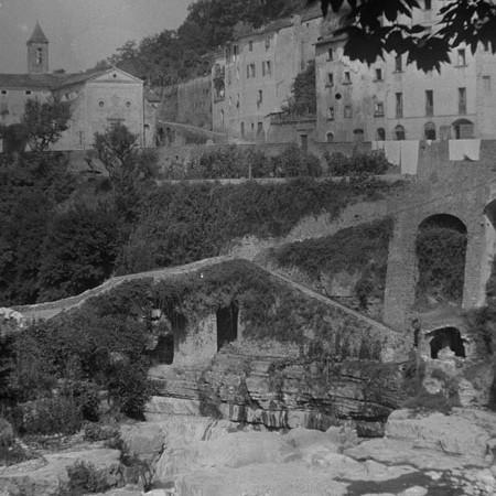 Chiesa di San Rocco e ponte della Piallastra