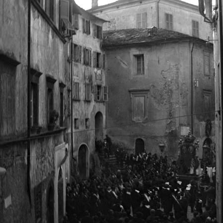 Processione di San Giuseppe, Bagnone 1902