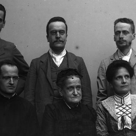 Gruppo di famiglia, Casa Bellegotti 1902