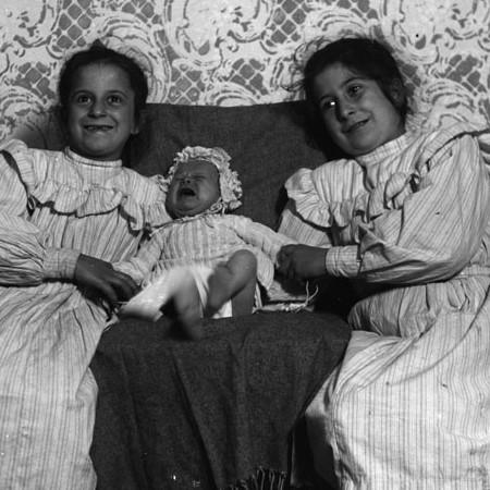 Enrichetta, Antonietta e Luisina 1904