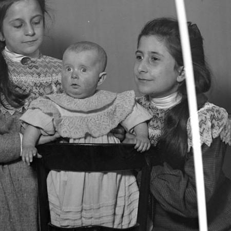 Enrichetta, Antonietta e Luisina Bellegotti 1905
