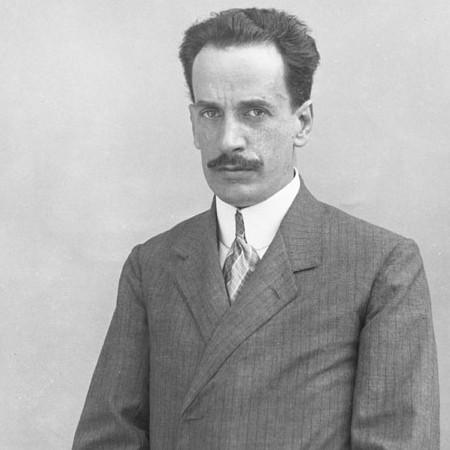Autoritratto di Paolo Raffaelli 1912
