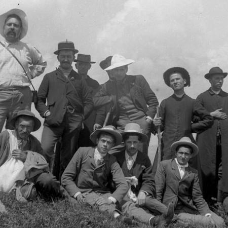 Gita sul Marmagna 1901