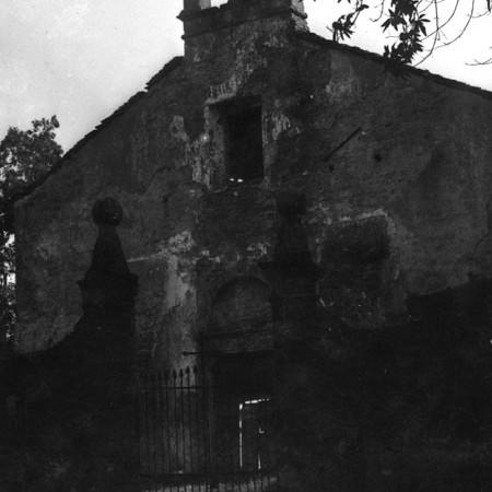 Ingresso e Chiesa del Cimitero di Mulazzo 1921